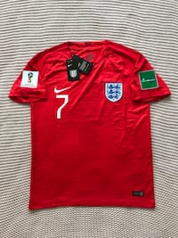 Lingard  England New Men's Soccer Team Red Soccer Jersey - M / L Chicago, 60642