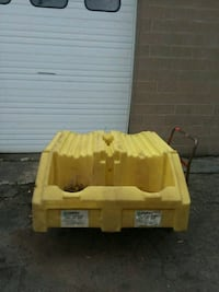 2 - 55 Gallon Drum On Side Storage Containment  Webster, 14580
