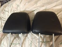 two black leather car seats Tomball, 77377