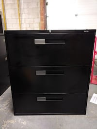 3 Drawer Lateral Filing Cabinet-Global, Excellent Condition! Mississauga