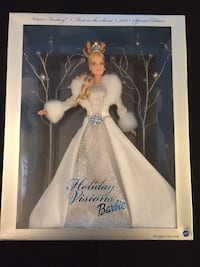 NIB 2003 Holiday Barbie Red Bank, 07701
