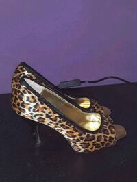 stiletto con stampa leopardo marrone e nero Scandicci, 50018