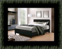 Full platform bed with box spring 51 km