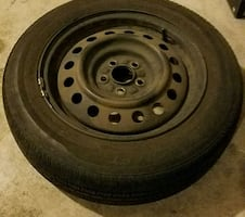 185 65 R15 tire and wheel, 5x100