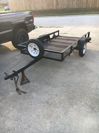 black and brown utility trailer Euless, 76039