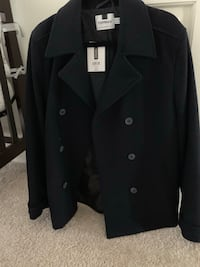 Topman coat navy blue M Mc Lean, 22101