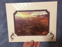 Grand Canyon Photo with Double Matting Edmonton, T6H 4Y7