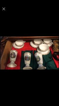 Collector porcelain teacups and goblets Guelph, N1H 1X3