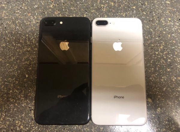Black and White iPhone 8 Plus 87fb394d-9686-4ff6-9ad3-fe3a2061492f