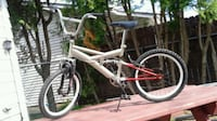 white and red full-suspension bike Gatineau, J8T 1S9