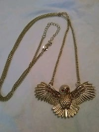 Women's Long Owl Necklace New Orleans, 70126