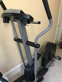 black and gray elliptical trainer Potomac