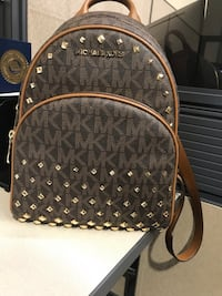 Michael Kors Studded Backpack/ Purse  Castroville