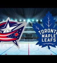 Maple Leafs vs. Blue Jackets - 2 tickets - section 311, row 7 Toronto, M8W 0A9