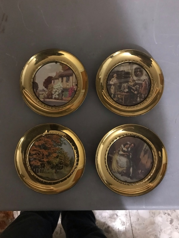 Used 4 Solid Round Brass Frames For Sale In Lebanon Letgo