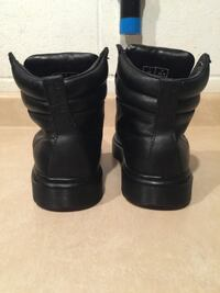 Men's Size 8 / Women's Size 9 Dr. Martens Jered Black Danio Lace-up Padded Boots London