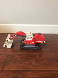 Play Mobile toy excavator