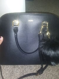 Woman's black purse