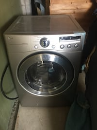gray LG front-load clothes washer Toronto, M9P 2P7