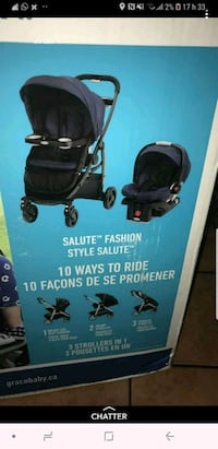 Stroller 3 in 1 Graco BRAND NEW Laval, H7T 1C7
