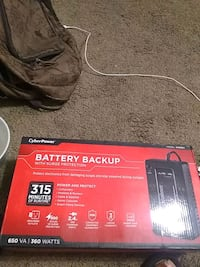 Battery back up cyber power  Baltimore, 21224