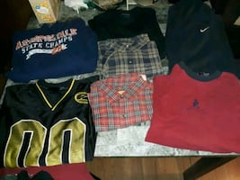 Mens size large lot mainly namebrand