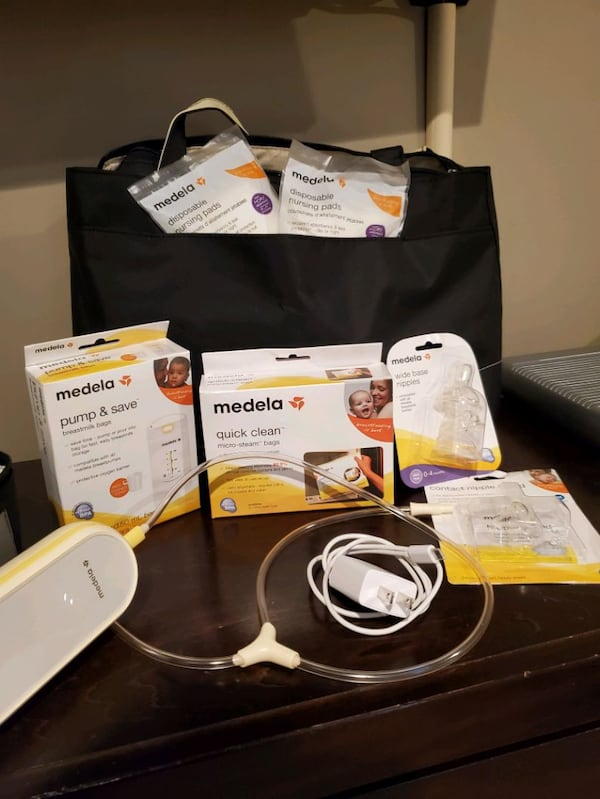 Used Medela Freestyle Flex Double Electric Breast Pump For Sale In