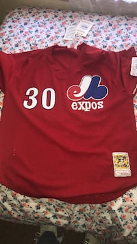 red and white Adidas Avea jersey shirt SPRINGDALE