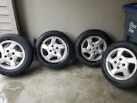 Firestone all season tires with honda rims. Surrey, V4N 5G3