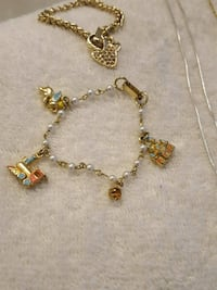 gold and blue beaded necklace Prescott Valley, 86314