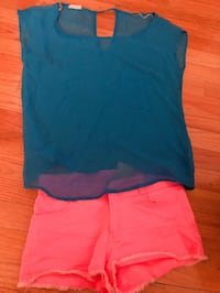 Cute top and short only for $9.99 New York, 11355