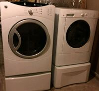 white front load washer and dryer set Indian Head, 20640