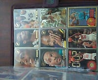 NBA player trading card collection