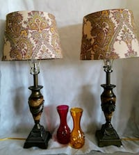 Lamps w/embroidered shades Albuquerque, 87107