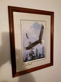"21""-17"" beautiful Eagle print Victoria, V9A 6A6"