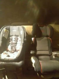 Saftey first folding compact booster and carseat Edmonton, T6B 0A4
