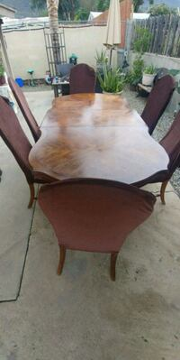 VINTAGE REAL WOOD TABLE AND CHAIRS Lake Elsinore, 92530