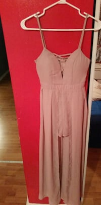 women rose pink  sleeveless dress Montréal, H2B 2L3