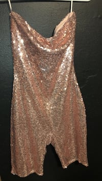 women's gold-colored sleeveless dress Port Orchard, 98366