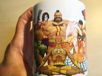 Street fighter coffee mug.