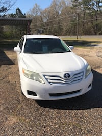 White Toyota Camry LE  Stonewall, 39363