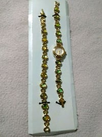 Tigers eye bracelet and watch Crystal River, 34428