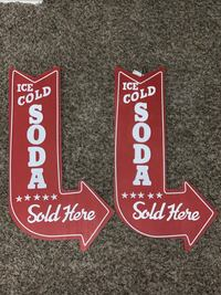 Ice cold soda signs  Louisville, 40299