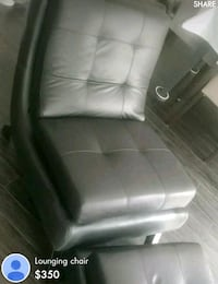 lounge chair and ottoman Markham, L3T 0B1