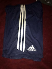 Adidas youth large boys shorts. New without tags. Navy blue and white.  Taneytown, 21787