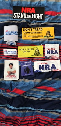 NRA/ Gun rights  merchandise Chantilly, 20152
