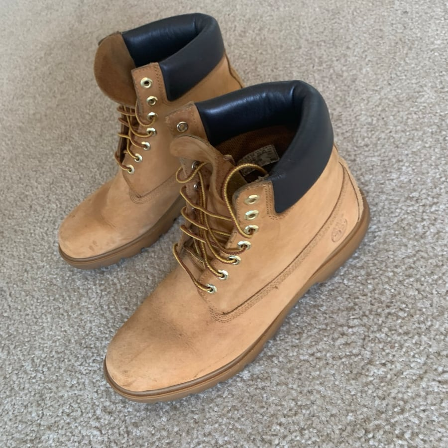 Mens Wheat Timberland Boots Size 11.5 (Used) 4392fbaf-dc9a-4807-bdcb-2193abcd53cb