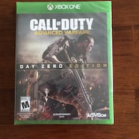 Unopened Call of Duty Advance  Warfare  day zero edition Broadlands, 20148