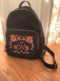 Floral Embroidered Backpack Alexandria, 22306