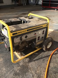 Yellow and black wacker portable power generator Hampstead, 21074